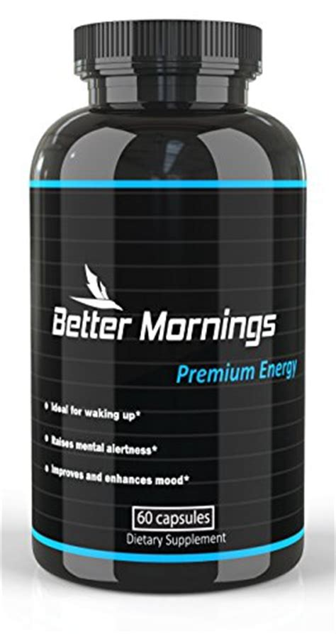 energy drink replacement better mornings energy capsules herbal nootropic