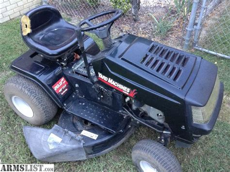 Garage Sale Lawn Mower armslist for sale mtd yard machine lawn mower