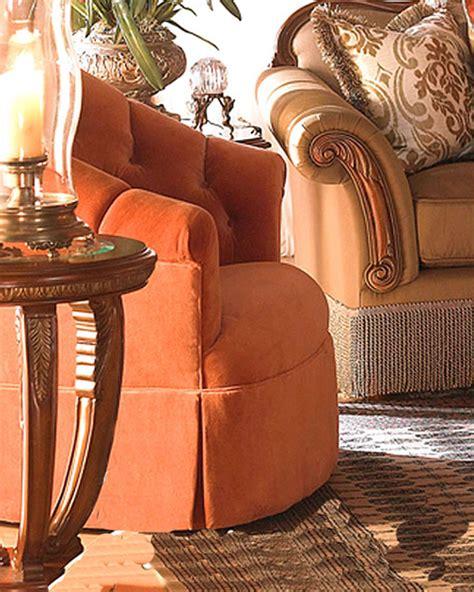 aico living room set cortina ai 6581525 aico swivel tub chair cortina ai 65839 coral 00