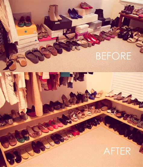 diy shoe rack for closet everyday shopaholic 50 pairs of shoes shoe rack