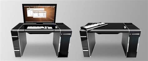 hidden computer monitor desk 20 hidden or hideaway desk ideas inhabit ideas