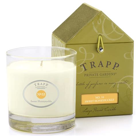 Trapp Candles Trapp Candles No 33 Sweet Honeysuckle 7 Oz Poured Candle
