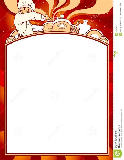 empty menu templates blank restaurant menu design printable and formats