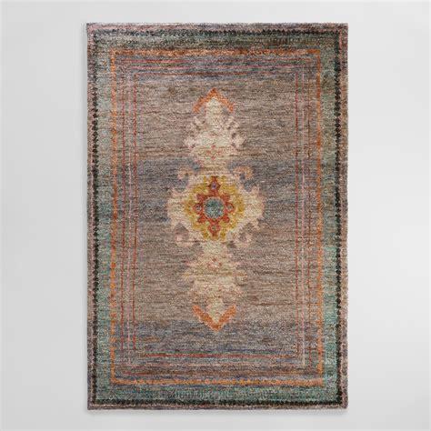 6 x9 knotted washed jute izmir area rug world market