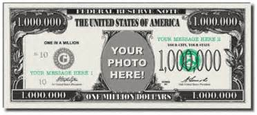 million dollar bill template photobucks picture yourself on a million dollar bill