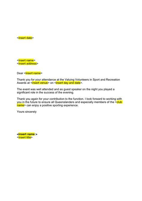 guest speaker   letter  word   formats