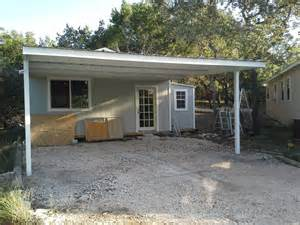 Attached Carports cotulla texas attached custom all steel carport carport patio