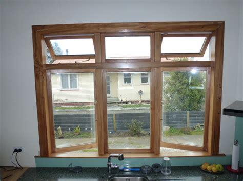 wood frame window solid glass window wooden window design