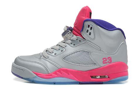 Schuhe Big Air 5 Gs Cement Flash Pueple Grau Kinder Rosa Ordnungsgemã ã Er Service P 193 authentic nike air 5 clearance