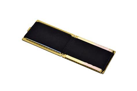 Walet Gold gold carbon fiber wallet