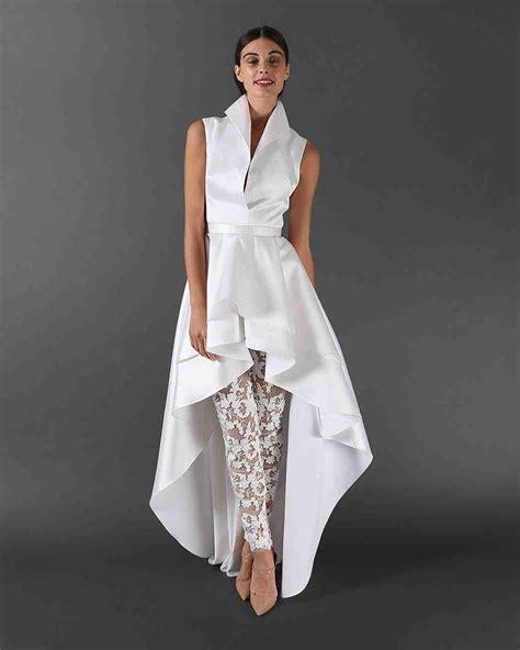 47 Chic Wedding Suits for Brides   Martha Stewart Weddings
