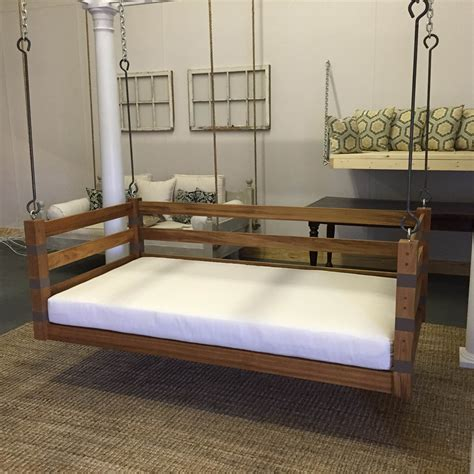 hanging swing bed hanging swing bed great and fun ideas porch swing bed