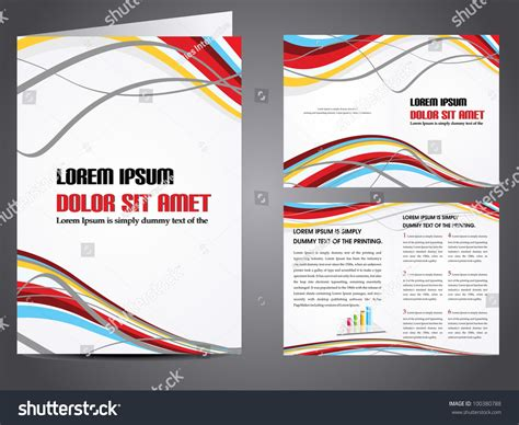 Professional Business Catalog Template Or Corporate Brochure Design With Inner Pages For Business Catalog Template