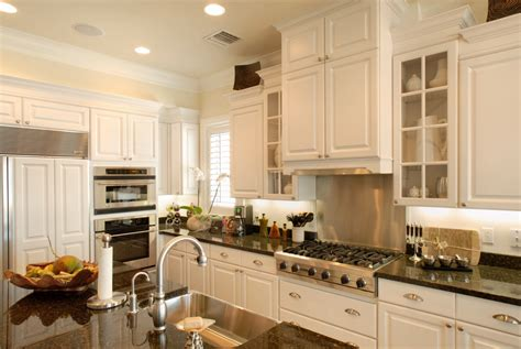 cabinet door styles kitchen transitional with neutral