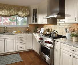Ivory Colored Kitchen Cabinets ivory cabinets in traditional kitchen aristokraft