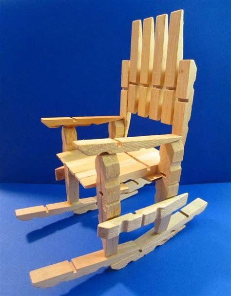 como hacer hamacas como hacer una silla hamaca de juguete con broches de