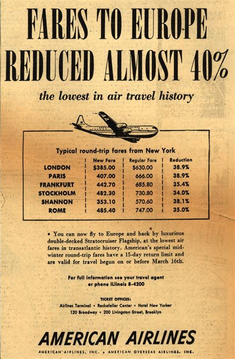 vintage airlines and aircraft ads of the 1940s page 49
