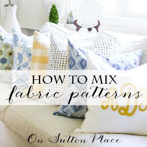 fabric pattern mixing how to paint a mirror cedar hill farmhouse