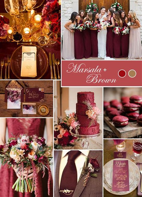 wedding colour themes autumn and winter weddings 10 best wedding themes for fall everafterguide
