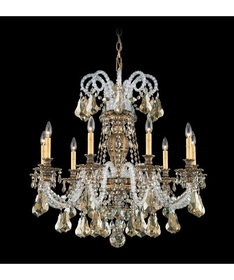 Inspirations Schoenbeck Lighting With Swarovski Chandelier For Home