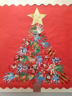 paper christmas tree bulletin board 1000 images about bulletin board on bulletin boards handprint