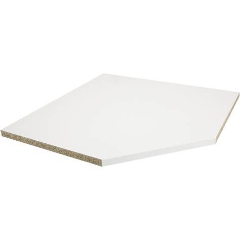 plan de travail d angle 2792 plan de travail d angle stratifi 233 blanc mat 105 x 105 cm