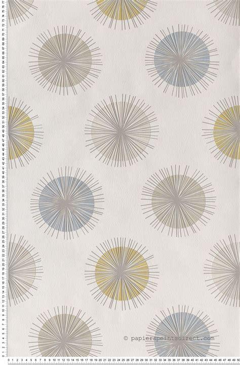 Tapisserie Lutece by Papier Peint Soleil Graphique Moutard Papier Peint