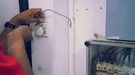 Pemasangan Stiker Kulkas 1 Pintu cara pemasangan thermostat suhu ruangan