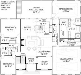 House Plans Open Floor Mystic 1850 3 Bedrooms And 2 5 Baths The House Designers