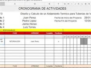 Como Hacer Un Calendario De Actividades Como Elaborar Un Cronograma De Actividades