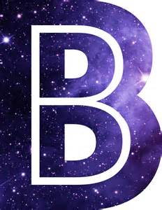 Space Wall Stickers For Kids quot the letter b space quot stickers by alphamike redbubble