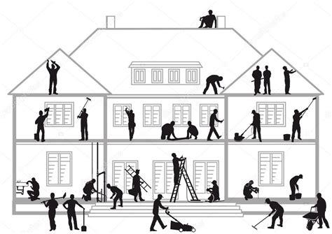 clipart edilizia operai edili al lavoro vettoriali stock 169 scusi0 9 23811747