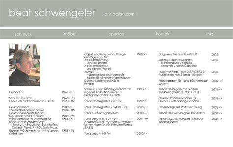 Lebenslauf Muster Rav Beat Schwengeler Schwengeler Lebenslauf Schweiz Z 220 Rich Design Moebel