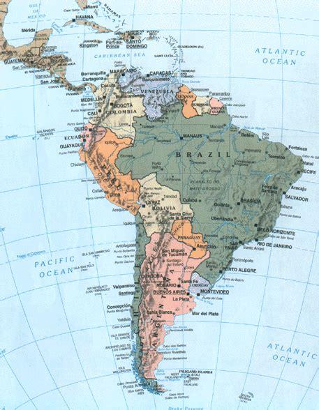 america map cuba map of cuba and south america
