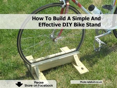 10 effective tips for stand how to build a simple and effective diy bike stand