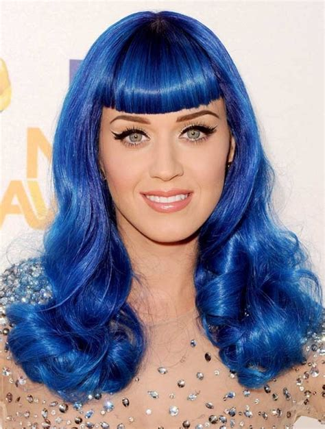 blue hair blue black hair color pictures