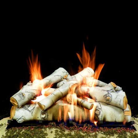 best gas fireplace logs in birch on flipboard