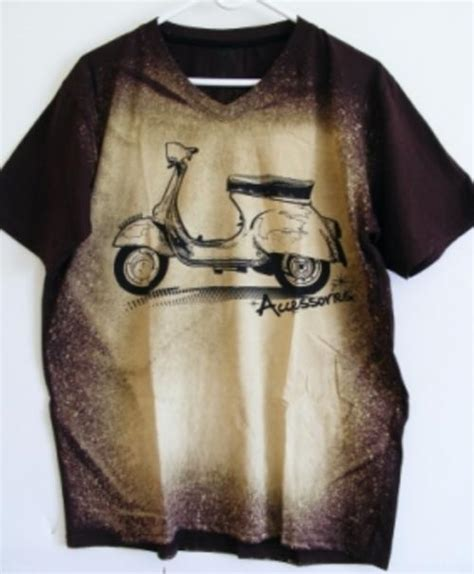 T Shirt Nv Vespa 22 t shirts tops cool dyed vespa t shirt by raredoo large was sold for r31 00 on 23 nov
