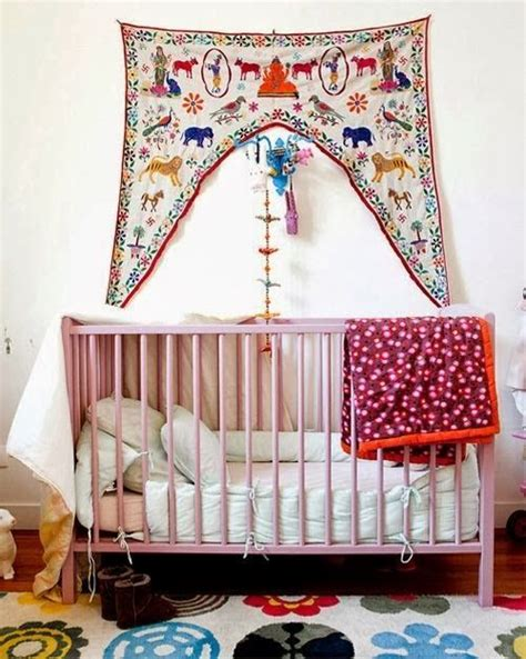 New Moon Bohemian Nursery Home Decor Kids Room Bohemian Nursery Decor