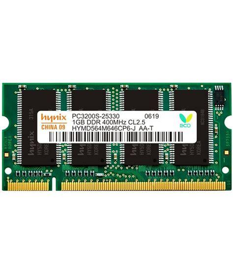 Ram Pc Ddr1 hynix laptop ddr1 1gb 400 mhz ram buy hynix laptop ddr1 1gb 400 mhz ram at low price in