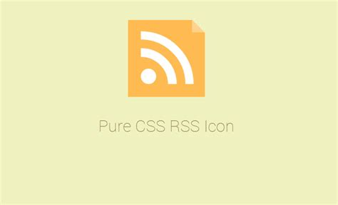 design inspiration rss feeds 50 free css only icons for website graphics designm ag