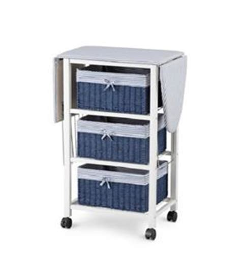 Laundry Room Ironing Board Storage Cart Station Space Laundry Room Storage Cart