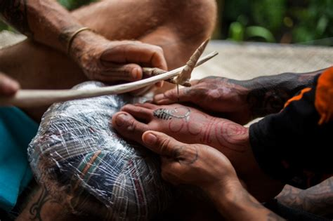 indonesian tattooists revive tribal traditions lifestyle