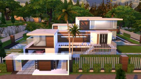 Modernhouse by The Sims 4 Villa Moderna Modern House L A Trailer