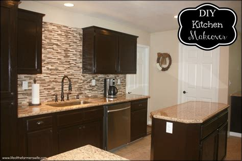 Staining Kitchen Cabinets Darker | staining kitchen cabinet to refresh your kitchen my