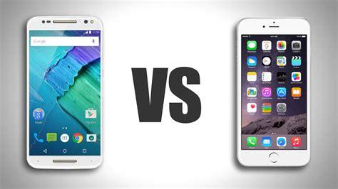 مقارنة بين moto x style و iphone 6s plus من الأفضل الأخبار التقنية