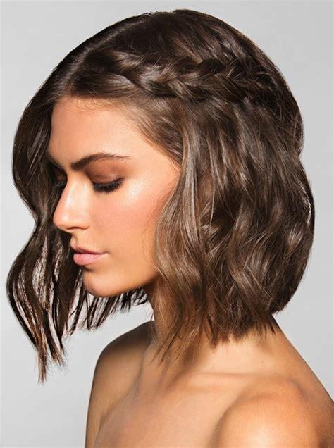 one sided bob hairstyle galleries le fashion 20 inspiring braid ideas for short hair