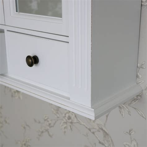 white shabby chic bathroom cabinet white wooden mirrored bathroom wall cabinet shabby vintage