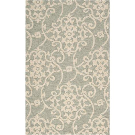 murray rugs artistic weavers mount murray light gray 9 ft x 12 ft indoor outdoor area rug s00151026404
