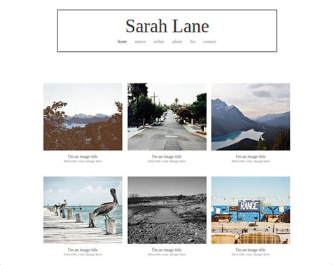 Photography Template by 40 Free Premium Photography Website Themes Templates